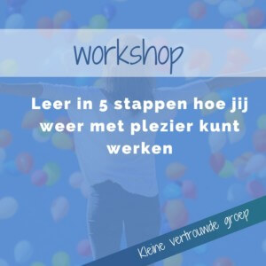 workshop loopbaan