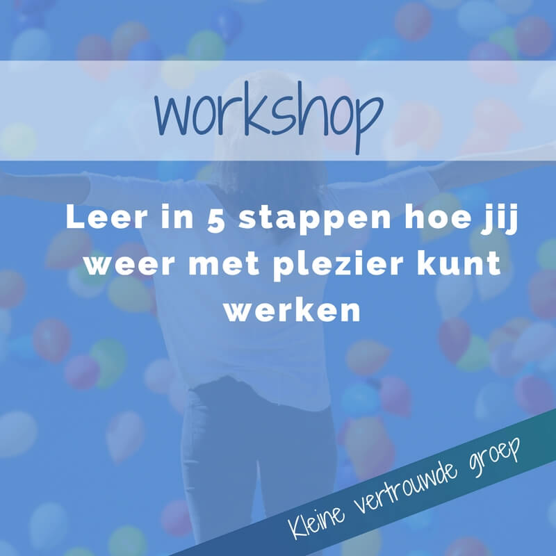 workshop loopbaan