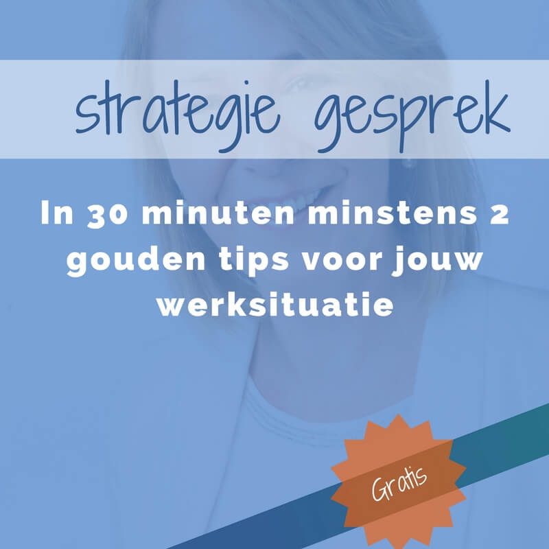 strategie gesprek